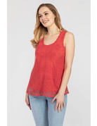 Embroidered Swing Tank