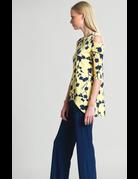 Clara Sunwoo Floral Open Shoulder Tunic