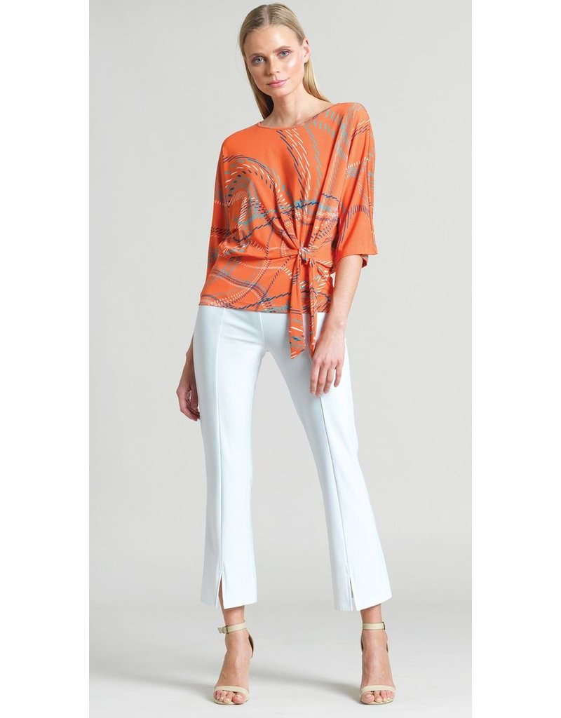 Dash Lines Side Tie Top