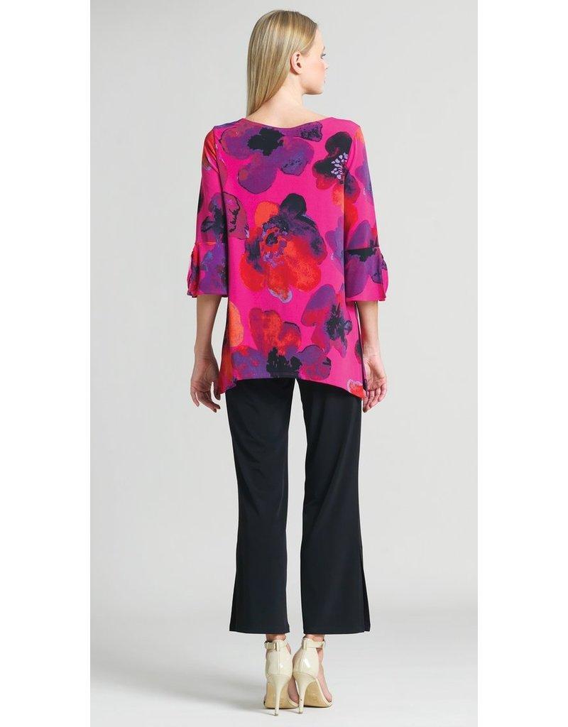 Poppy Print Knit Tunic