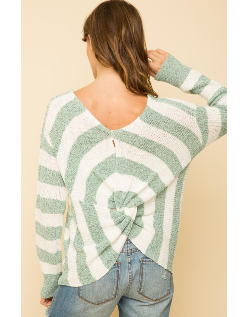 Knotted Back Pullover