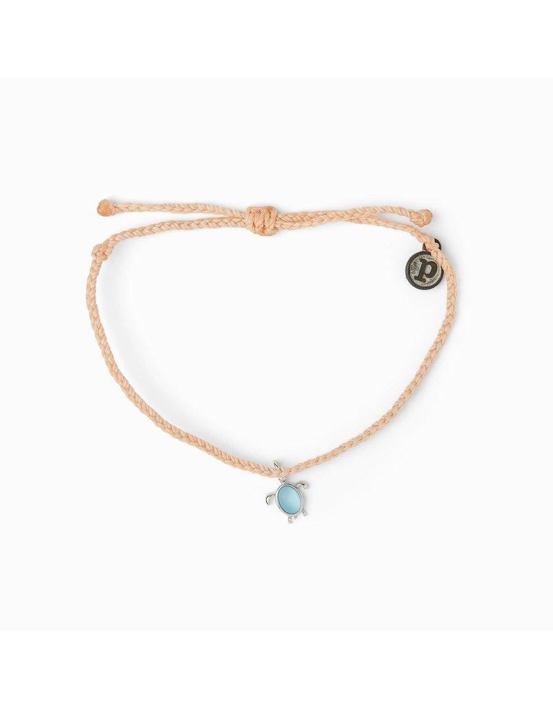 Sea Turtle Silver Bracelet