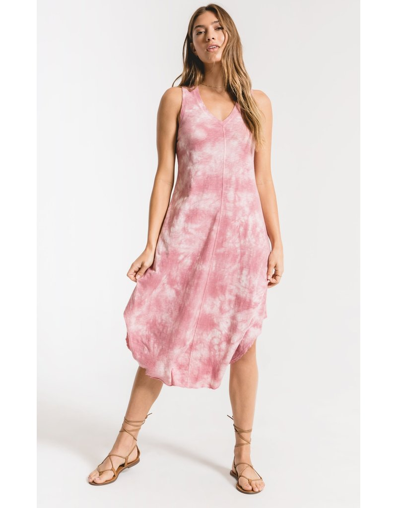 Cloud Tie-Dye Dress
