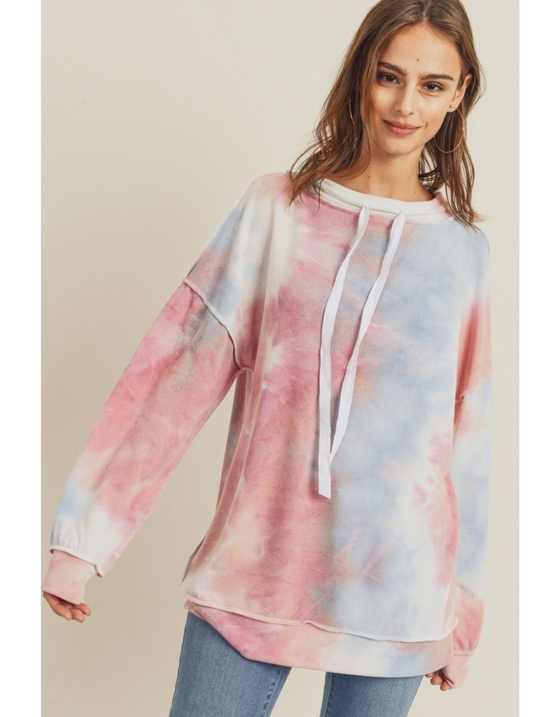 Tie-Dye Pullover