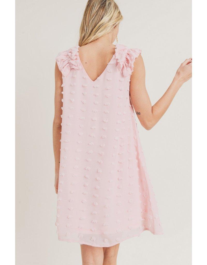 Chiffon Swiss Dot Dress