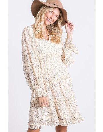 Polka Dot Babydoll Dress