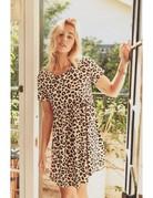 Leopard Babydoll Dress