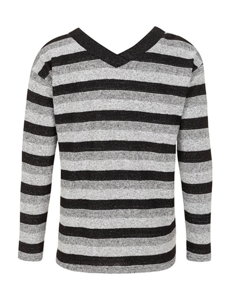 Tribal Sportswear Stripe V-Back Top