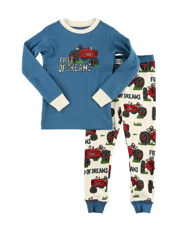 Lazy One Field of Dreams PJ Set