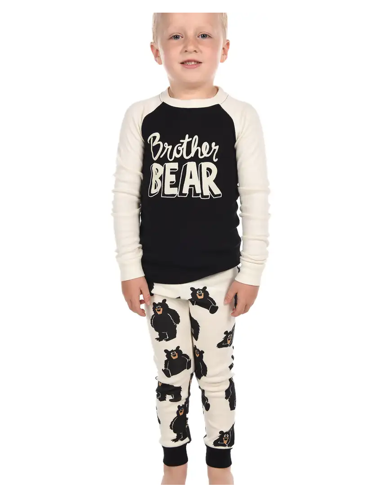 Lazy One Brother Bear PJ Set