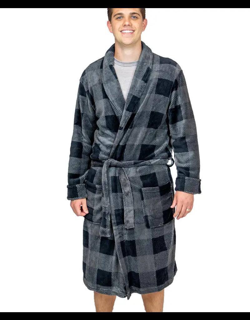 Men's Plaid Robe
