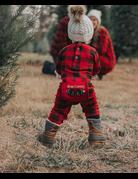 Plaid Bear Cheeks Infant Flapjack