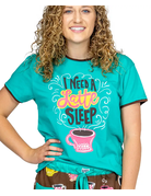 Latte Sleep PJ Tee
