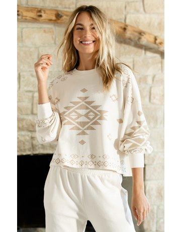 Lea Tribal Sweatshirt
