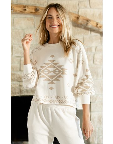 Z Supply Lea Tribal Sweatshirt