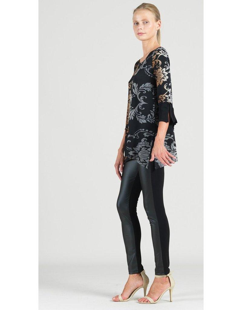 Damask Soft Knit Tunic