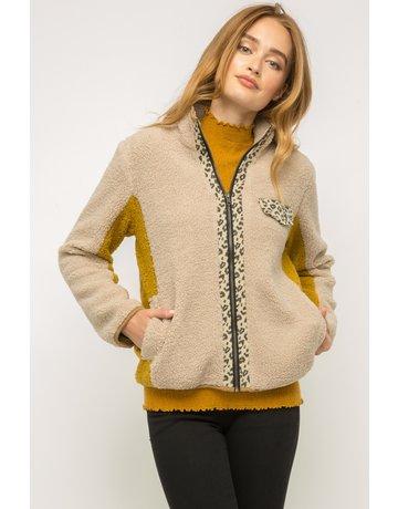 Teddy Fur ZipUp Jacket