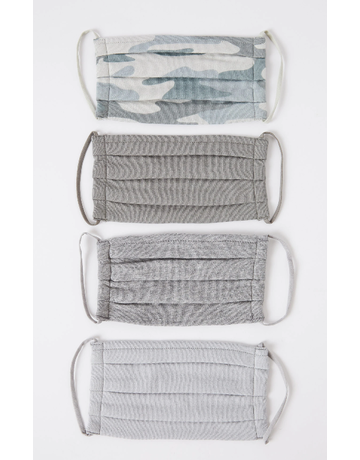 Camo Mask 4 Pack Dusty Sage