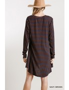 Striped Dress w/ Pockets