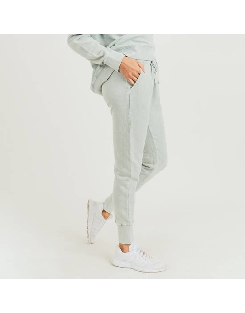 Mineral Wash Terry Sweatpants