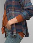 Alfie Flannel Top