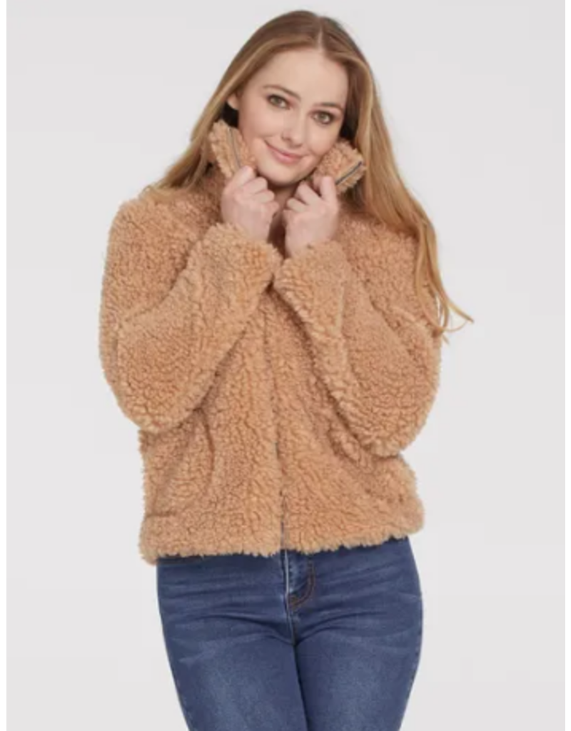 Fuzzy Teddy Jacket