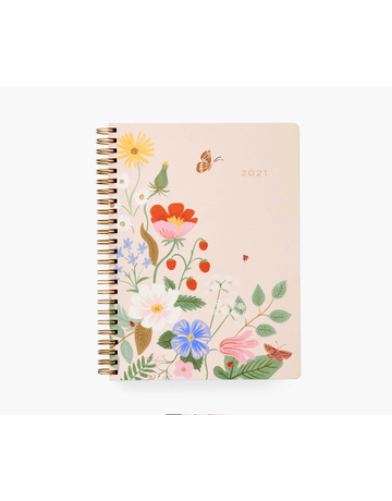 2021 Strawberry Fields Spiral Planner
