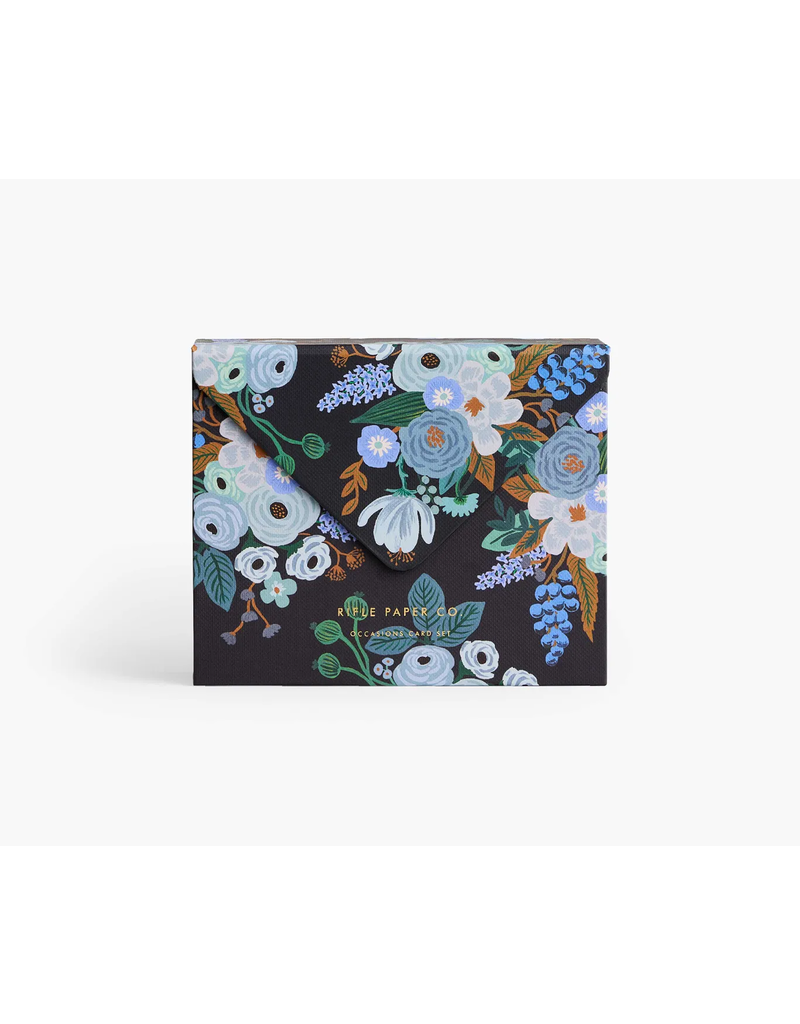 Mixed Florals Card Box