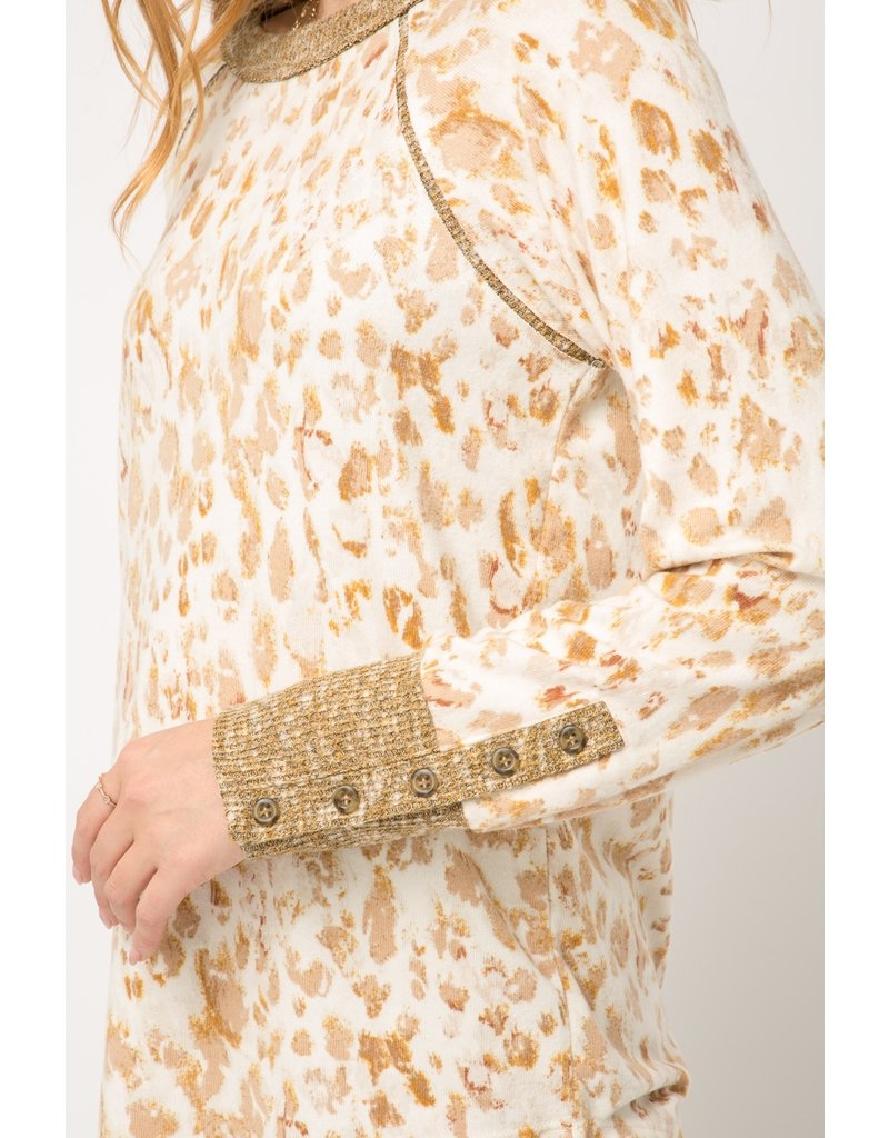 Leopard Thermal Top