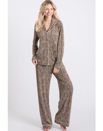 Leopard PJ Set