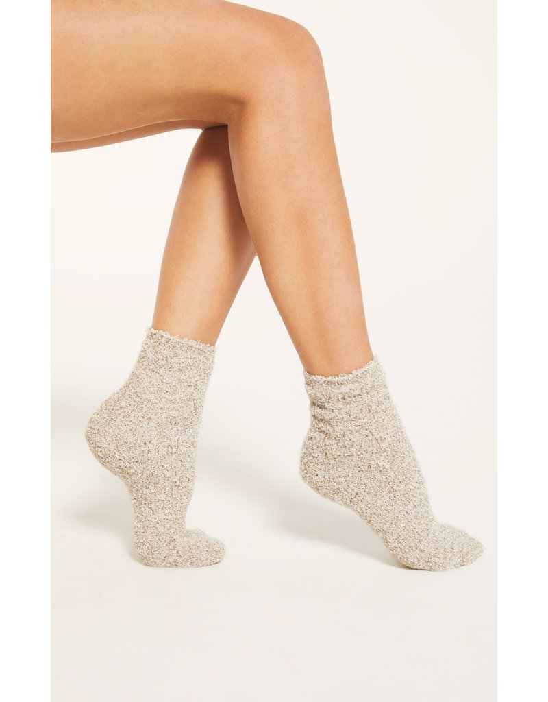 Z Supply 2 Pack Plush Socks - Bone
