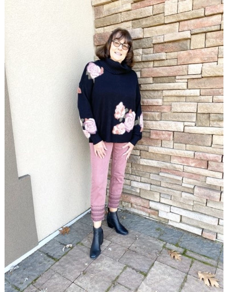 CharlieB Jacquard Sweater