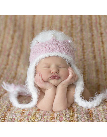Daisy Baby Abigail Princess Crown Hat