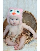 Daisy Baby Fisher Owl Hat