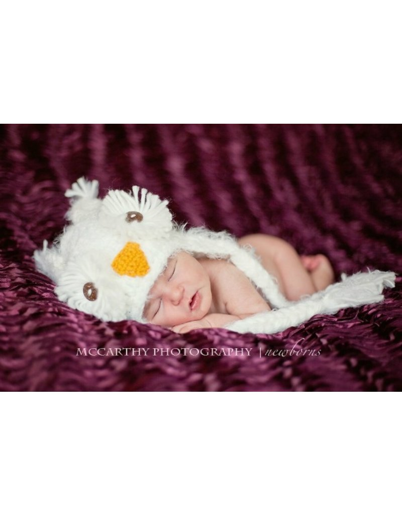 Daisy Baby Kasper Snow Owl Hat