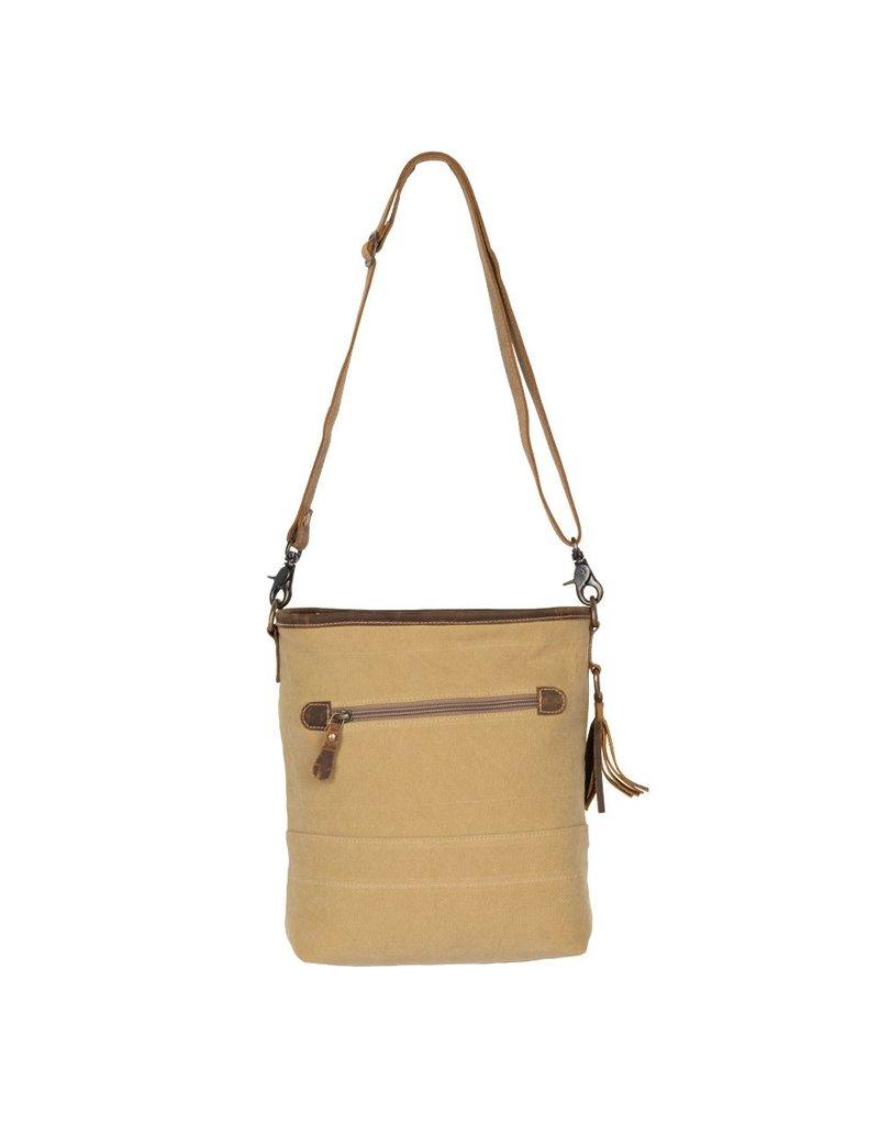 Arty Canvas Shoulder Bag