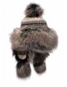 Village House Bayka Hat with Faux Fur