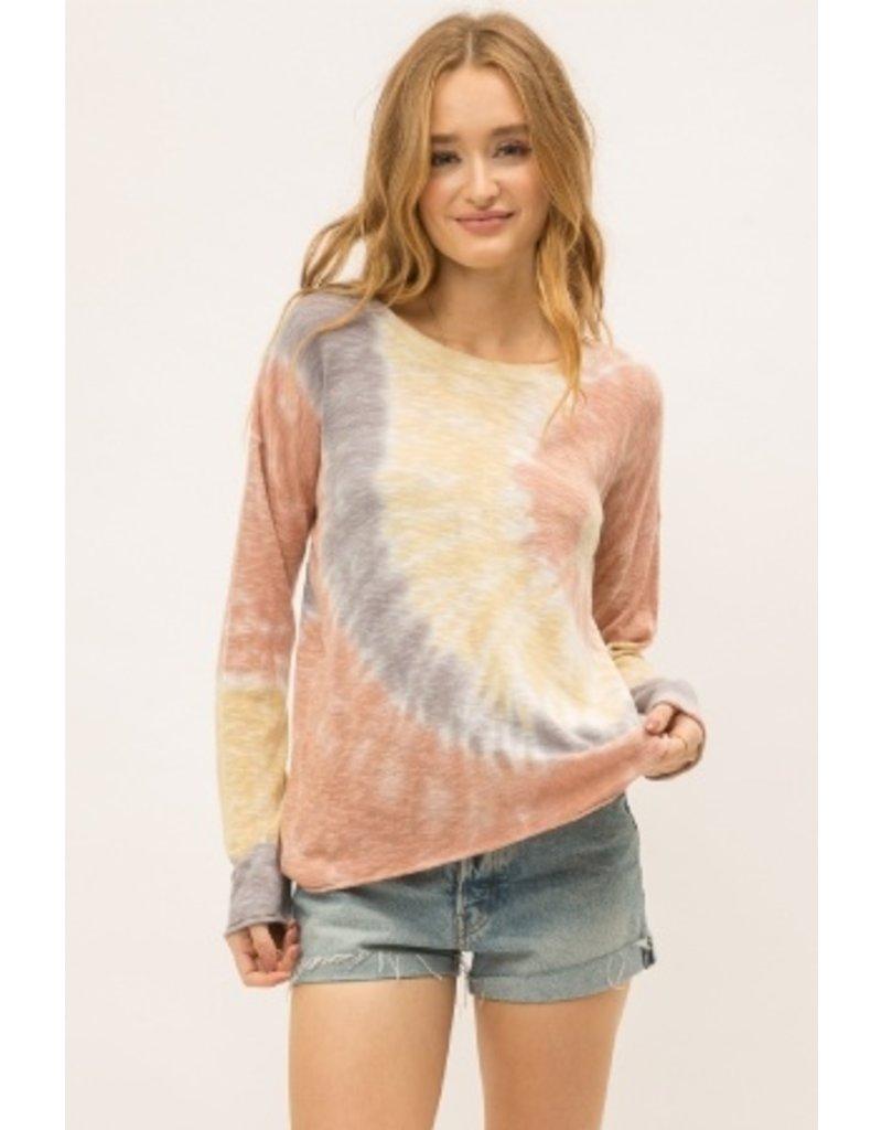 Mystree Tie Dye Pullover