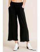 Umgee USA Wide Leg Pant w/Pocket