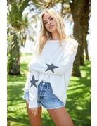 Round Neck Sweater w/Star
