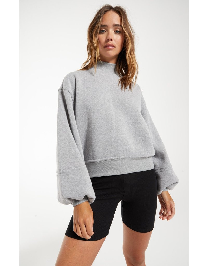 Z Supply Skylar Mock Neck Pullover