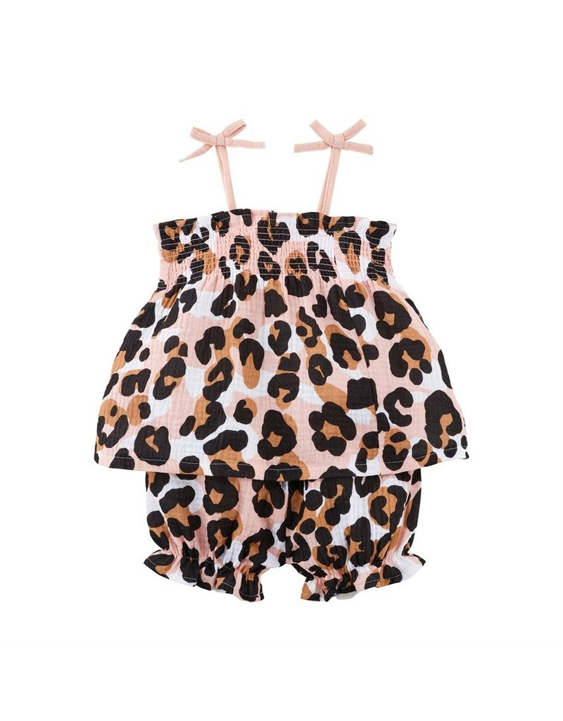 Leopard Short Set