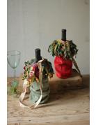 Kalalou Velvet Wine Bags