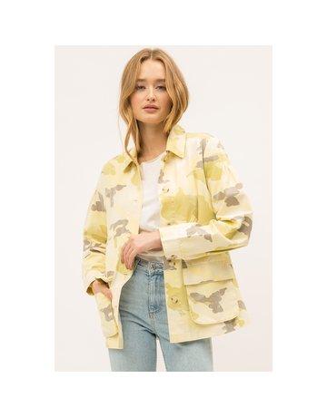 Mystree Pastel Camo Utility Jacket