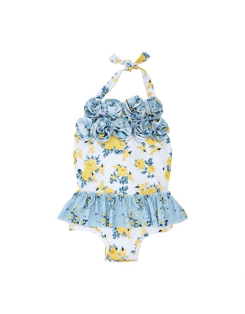 Floral 1pc Swimsuit
