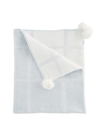 Plaid Chenille Blanket