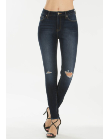 KanCan High Rise Super Skinny Jean Dark