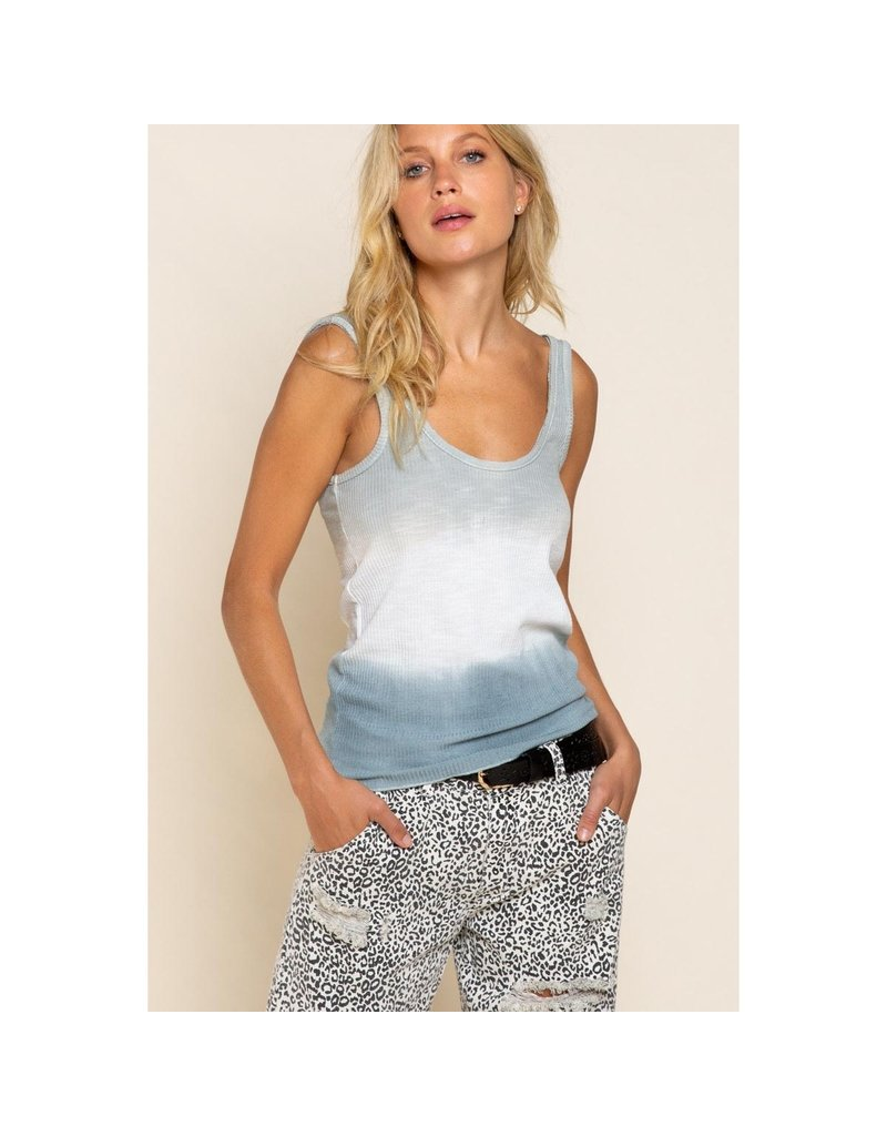 POL Clothing Ombre Knit Tank