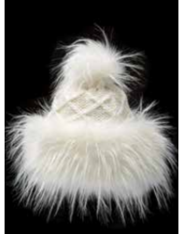 Village House Cossack Hat with Faux Fur