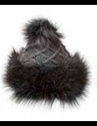 Village House Cossack Hat with Faux Fur
